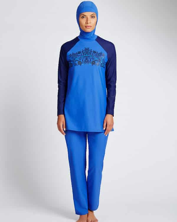 A burkini sold by Marks & Spencer