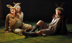 Watership Down at the Watermill theatre in Newbury.