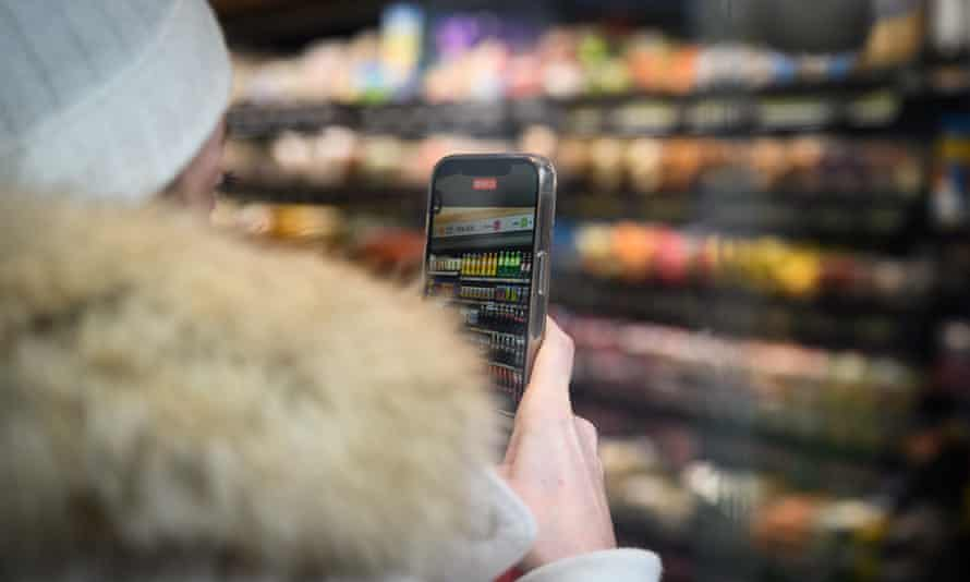 Amazon customers check in with a smartphone app upon entry and are automatically billed when they exit, without needing to scan individual items.
