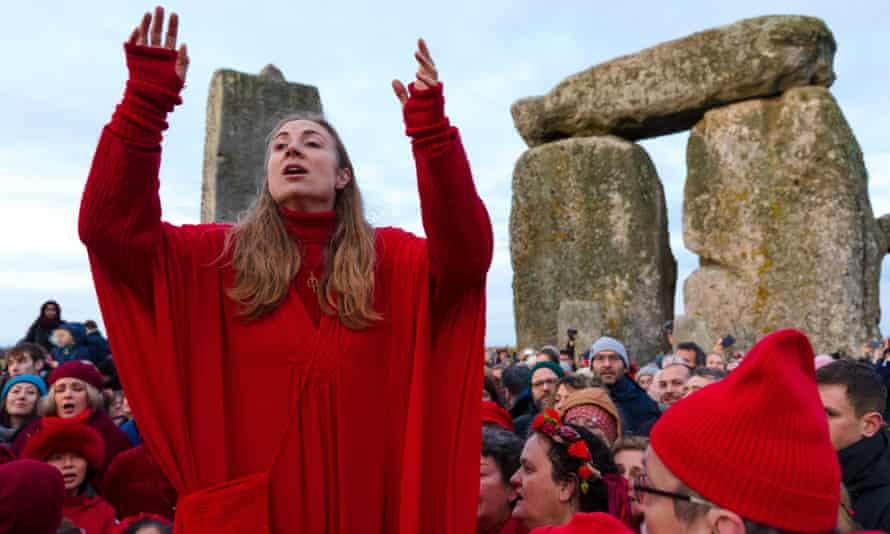 Winter solstice celebrations at Stonehenge