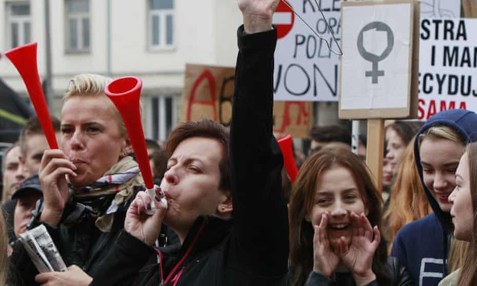 Poland demonstration