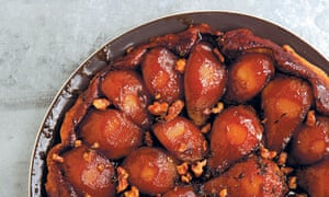 Alice Hart's pear and parmesan tarte tatin works as a starter, main or cheese course