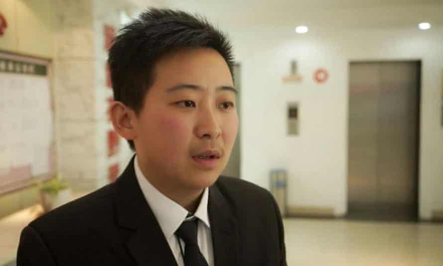 Transgender man and LGBT activist Chen
