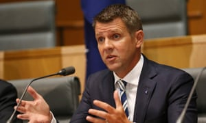 The premier of New South Wales, Mike Baird, says: 'There is no intent in what the minister said, and from my point of view he is an outstanding minister.'