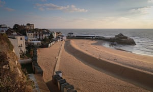 Sea front and harbour at Broadstairs, Kent