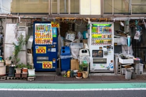 Vending machines of Japan by photographer Tim Easley.