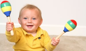 The study took place in nine-month-old babies, and will now be followed up in two-and-a-half-year-old toddlers to see if there have been benefits for their language development.