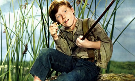 Eddie Hodges in the title role of the 1960 film, The Adventures of Huckleberry Finn.