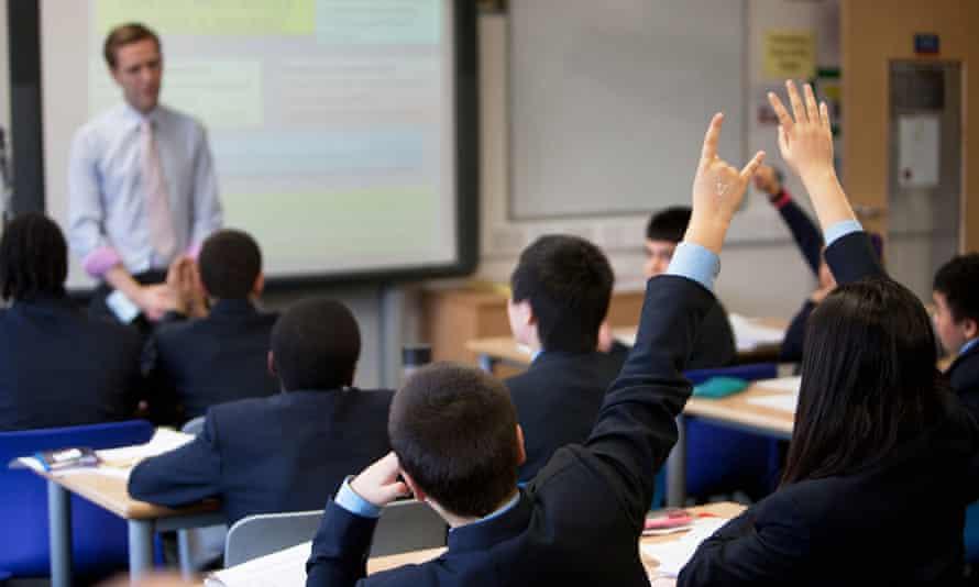 A school classroom in London