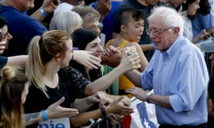 Bernie Sanders has cautioned against impeachment.