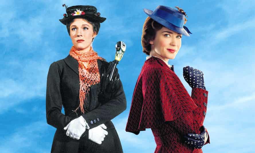 Emily Blunt and Julie Andrews
