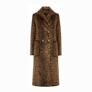 Longline leopard, £129, warehouse.co.uk.
