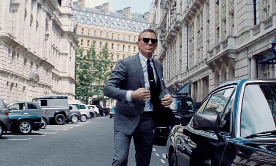 Daniel Craig in No Time to Die, finally out in cinemas next week.