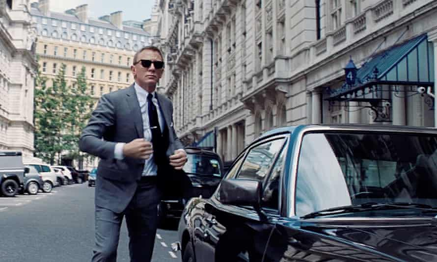 007 to the rescue? Daniel Craig in the forthcoming Bond film No Time to Die.