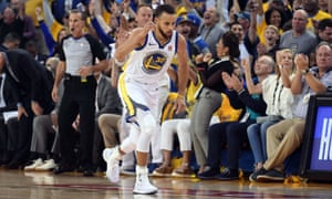 Stephen Curry scored at will in the second-half against Houston