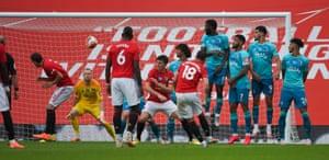 Bruno Fernandes of Manchester United scores.