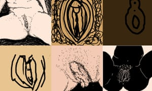 Just a few of the vulva drawings we loved.