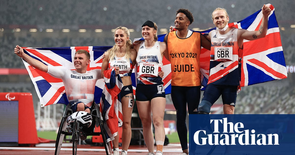 Clegg and Peacock help ParalympicsGB win upgraded silver in universal relay