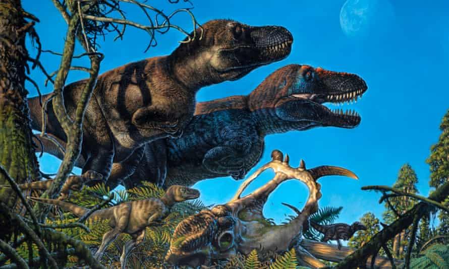 Sebelumnya tidak jelas apakah dinosaurus hidup di Kutub Utara sepanjang tahun atau pengunjung musiman