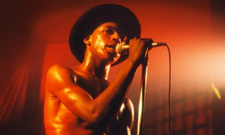 Ranking Roger performing in Belgium, May 1980.