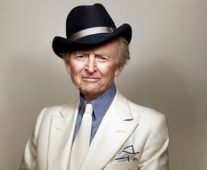 An image of Tom Wolfe released by his publishers Little, Brown and Company in 2012