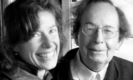 Susan Faludi with Stefánie in 2010