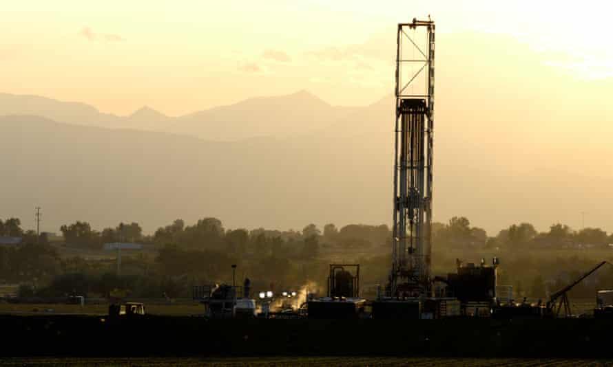 colorado fracking tower