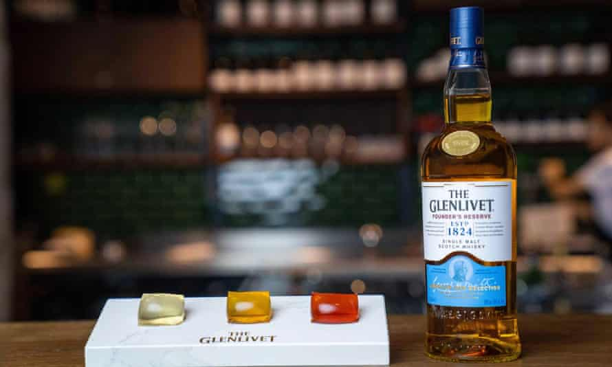 The Glenlivet capsule collection – whisky in a pod.