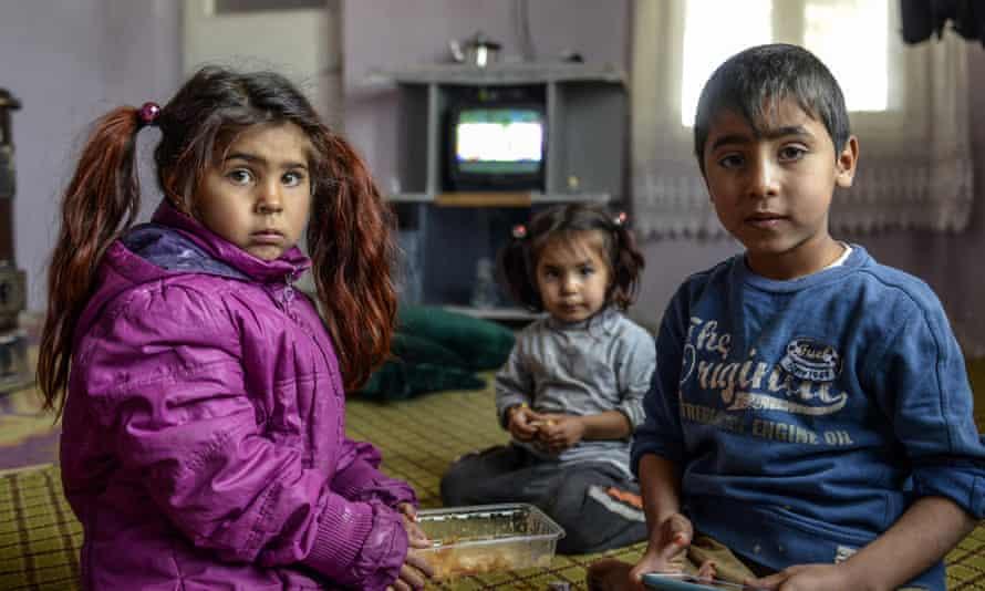 syria refugee kids