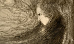 Completely comfortable only at the piano … Chopin, in a detail from a drawing by Wojciech Weiss.