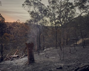 In mid-April last year conditions for a fire with such ferocity was unseasonal in New South Wales, Australia