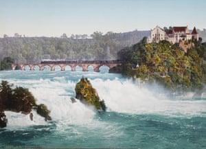 The Rhine Falls, Switzerland, circa 1890