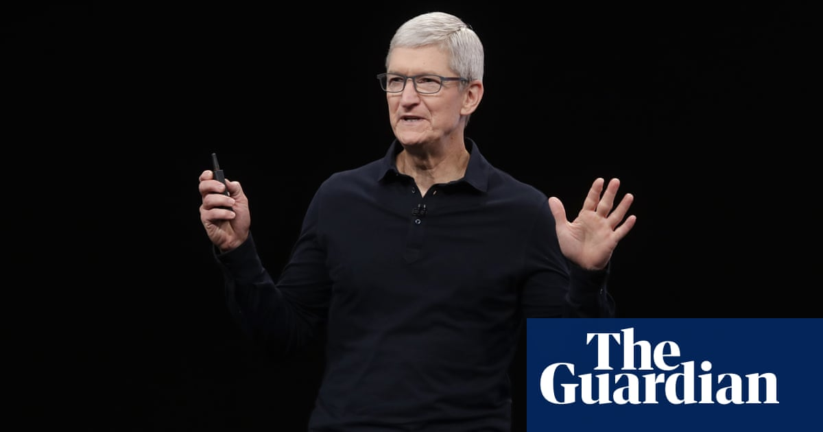 Apple's Tim Cook joins chorus in denouncing Georgia's voting law