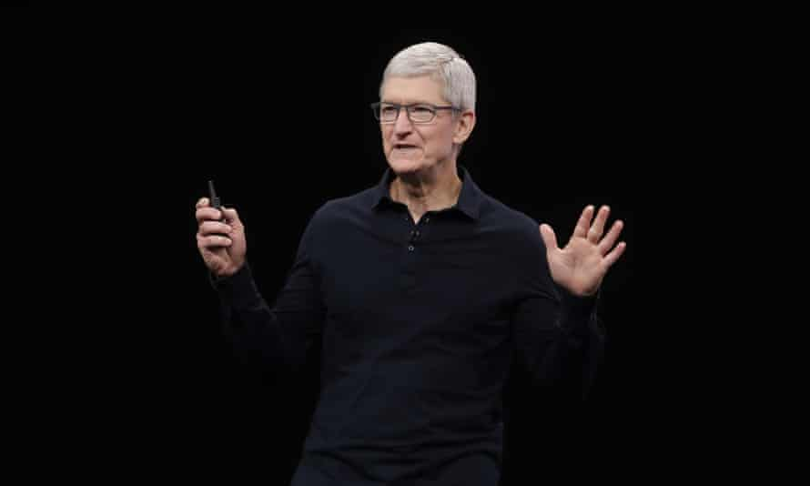 Tim Cook: 'Black people, in particular, have had to march, struggle and even give their lives for more than a century to defend' the right to vote.