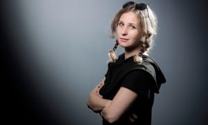 The Russian activist and writer Maria Alyokhina