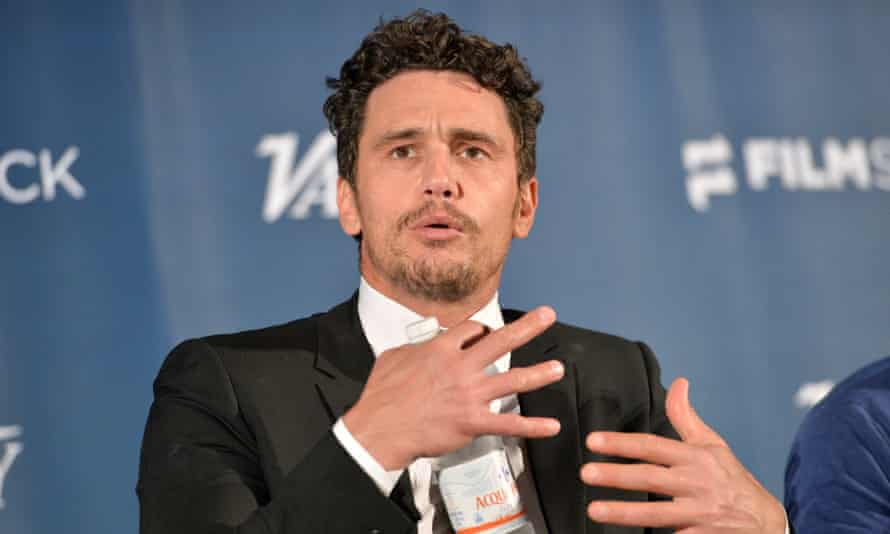 James Franco. The suit claims 'often young and inexperienced females … were routinely pressured to engage in simulated sex acts that went far beyond the standards in the industry'.