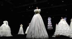The finale of the show was shown in real time, following Nick Knight's film.