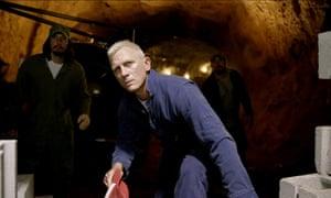 Daniel Craig in Logan Lucky: disturbingly hilarious.