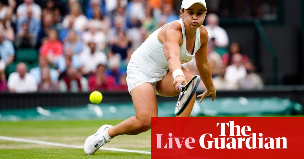 Wimbledon 2021 semi-finals: Barty v Kerber and Pliskova v Sabalenka – live!