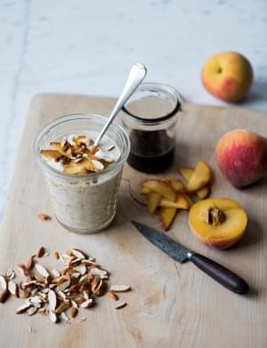 Rye and vanilla malt overnight oats