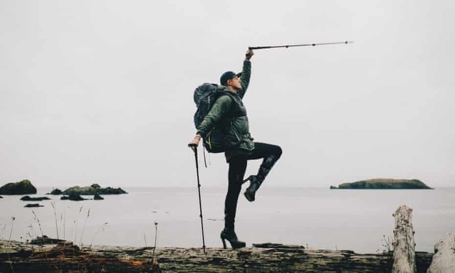 Pattie Gonia, mountaineer, photographer, drag queen.