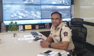 Milind Bharambe in his office.