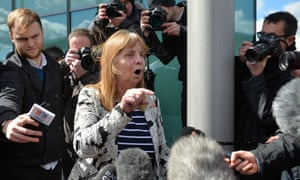 Margaret Aspinall whose son James died in the 1989 Hillsborough disaster