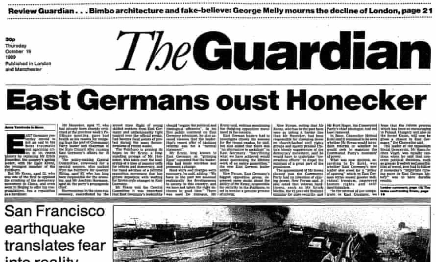 The Guardian, 19 October 1989.