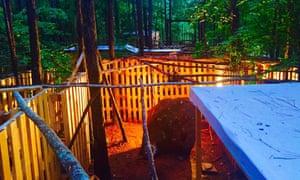 The Dig Rock, Escape Woods, Sleepy Hollow Farm, Georgia