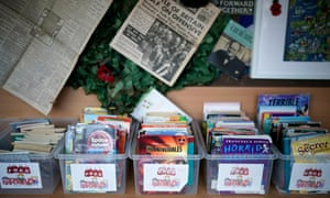 Children's books lay dormant at Oldfield Brow primary school, Altrincham