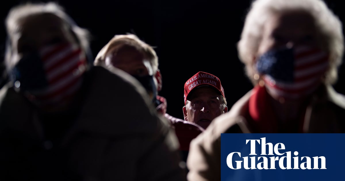 Trump supporters hospitalised after being stranded in freezing temperatures at late-night rally