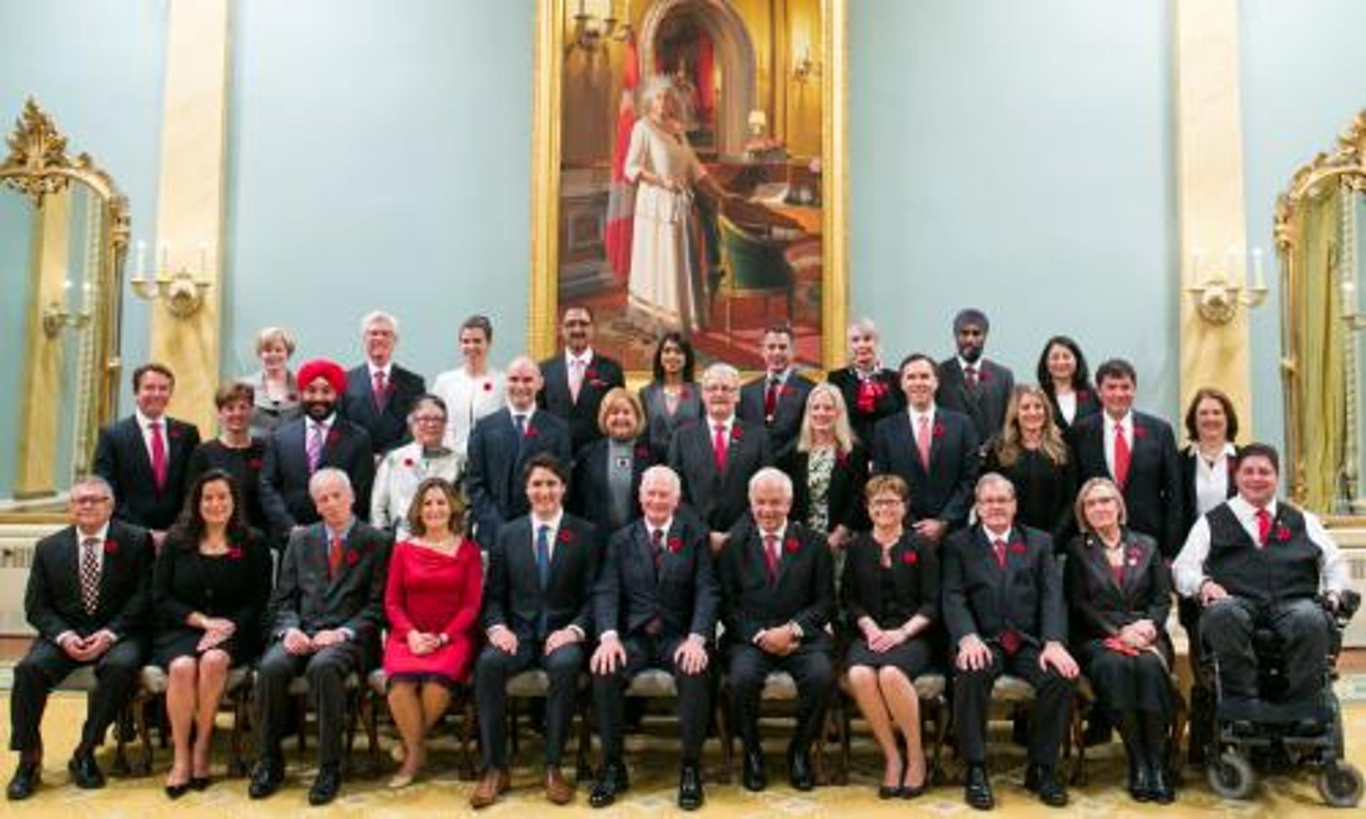 Image result for trudeau's cabinet