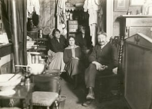 A family in a shack, c 1930