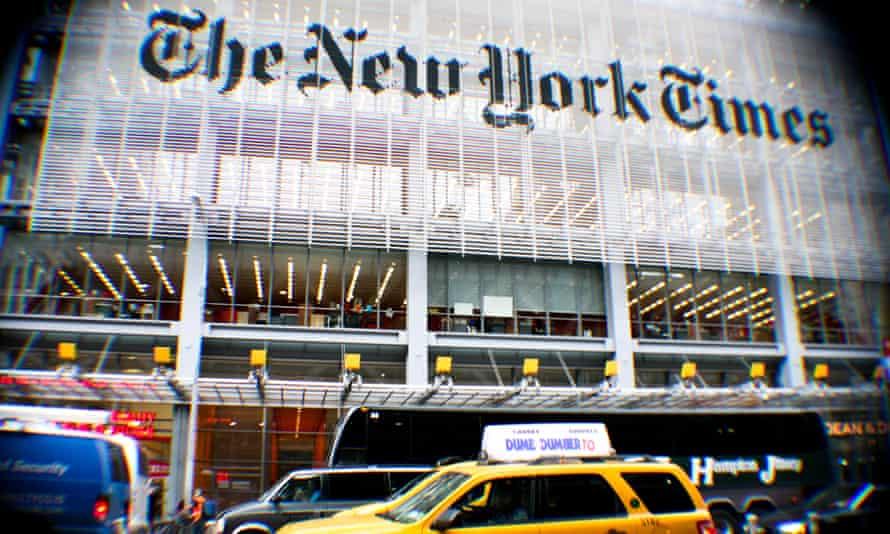 The New York Times Building, Manhattan, New York, USA.
